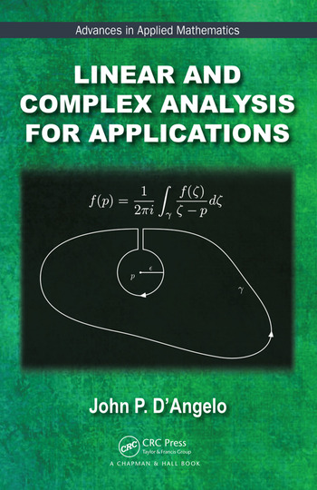 Linear and Complex Analysis for Applications book cover
