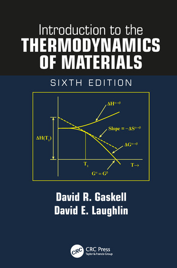 Introduction to the Thermodynamics of Materials book cover