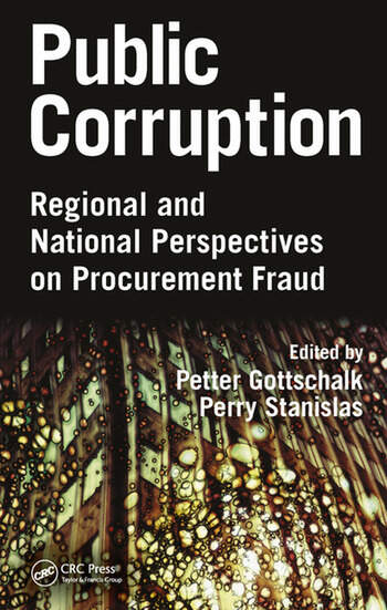 Public Corruption Regional and National Perspectives on Procurement Fraud book cover