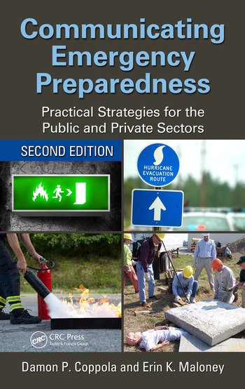 Communicating Emergency Preparedness Practical Strategies for the Public and Private Sectors, Second Edition book cover