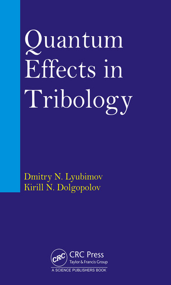 Quantum Effects in Tribology book cover