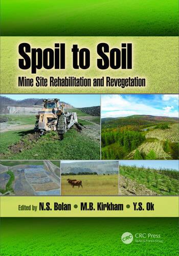 Spoil to Soil: Mine Site Rehabilitation and Revegetation book cover