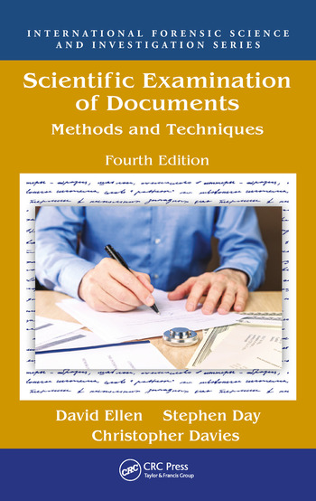 Scientific Examination of Documents Methods and Techniques, Fourth Edition book cover