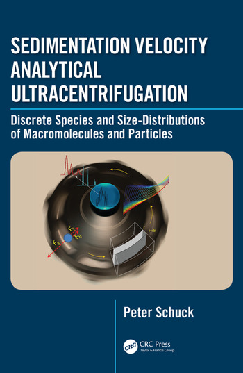 Sedimentation Velocity Analytical Ultracentrifugation Discrete Species and Size-Distributions of Macromolecules and Particles book cover
