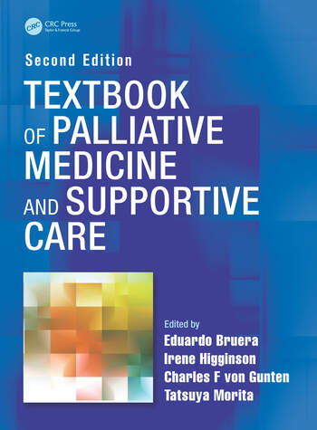 Textbook of Palliative Medicine and Supportive Care book cover