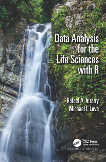 Data Analysis for the Life Sciences with R book cover