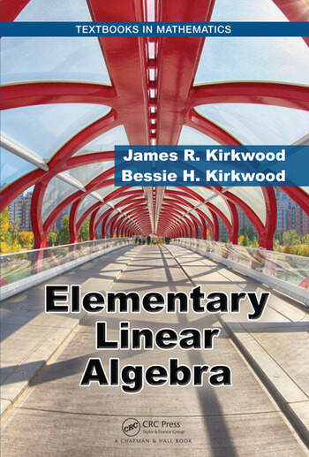 Elementary Linear Algebra book cover