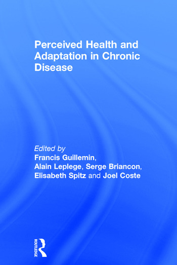 Perceived Health and Adaptation in Chronic Disease book cover