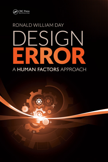 Design Error A Human Factors Approach book cover