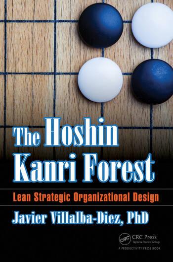 The Hoshin Kanri Forest Lean Strategic Organizational Design book cover