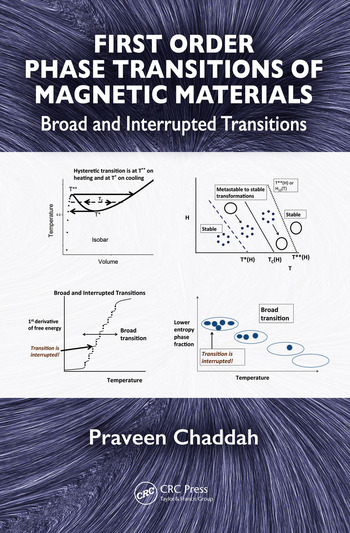 First Order Phase Transitions of Magnetic Materials Broad and Interrupted Transitions book cover