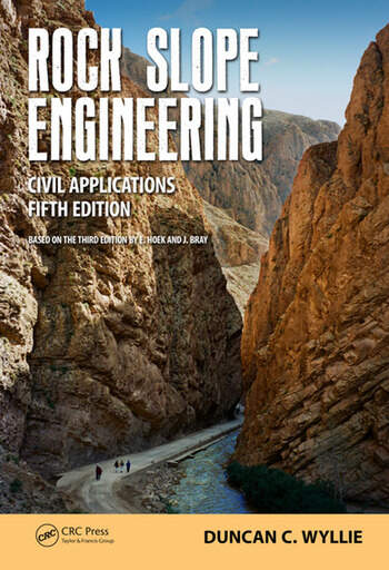 Rock Slope Engineering Civil Applications, Fifth Edition book cover