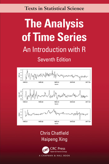 The Analysis of Time Series An Introduction book cover