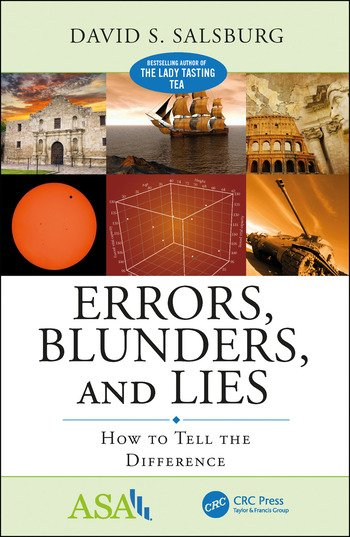 Errors, Blunders, and Lies How to Tell the Difference book cover
