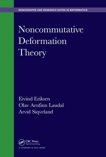 Noncommutative Deformation Theory book cover