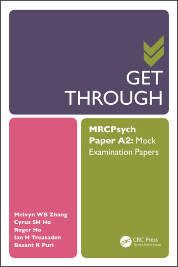 Get Through MRCPsych Paper A2 Mock Examination Papers book cover