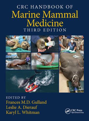 CRC Handbook of Marine Mammal Medicine book cover