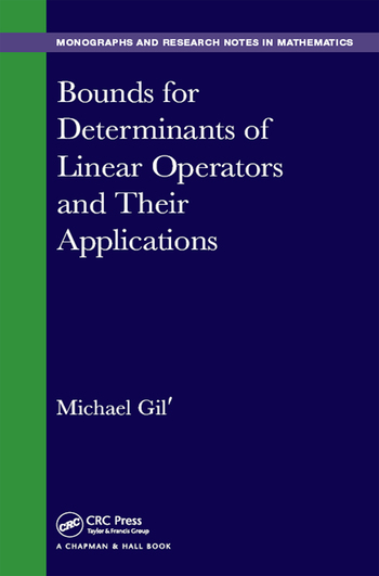 Bounds for Determinants of Linear Operators and their Applications book cover
