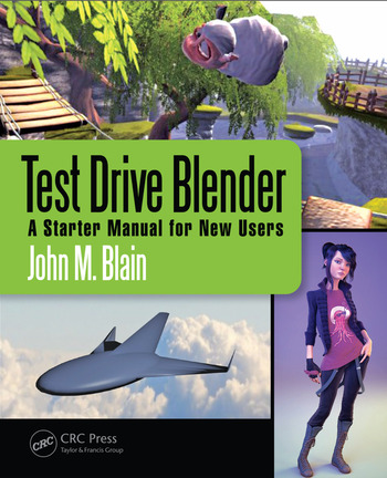Test Drive Blender A Starter Manual for New Users book cover