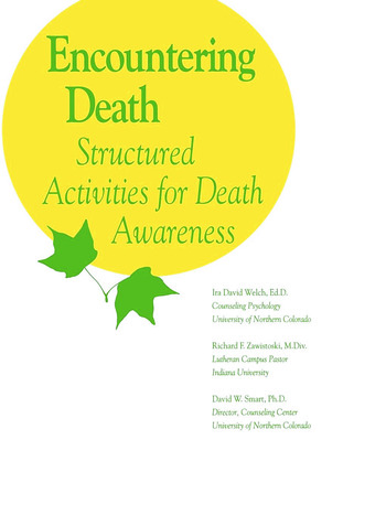 Encountering Death book cover
