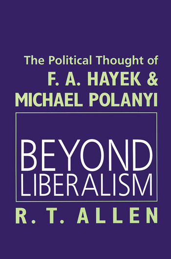 Beyond Liberalism book cover