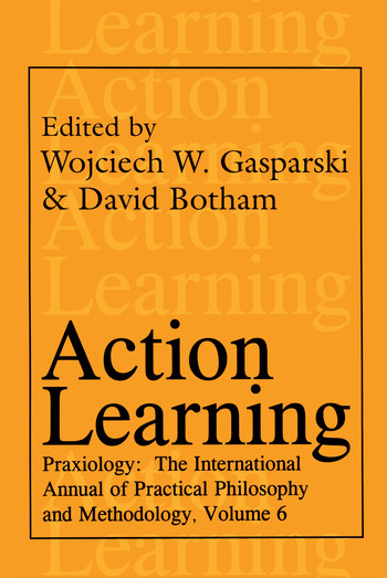 Action Learning Praxiology book cover