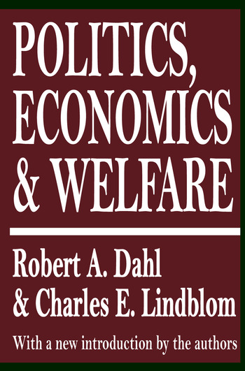 Politics, Economics, and Welfare book cover