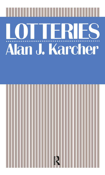 Lotteries book cover