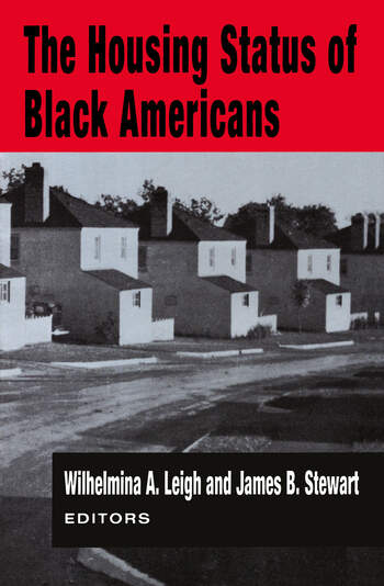 The Housing Status of Black Americans book cover
