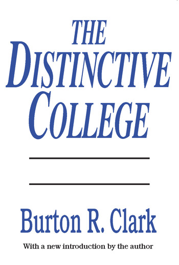 The Distinctive College Antioch, Reed, and Swathmore book cover