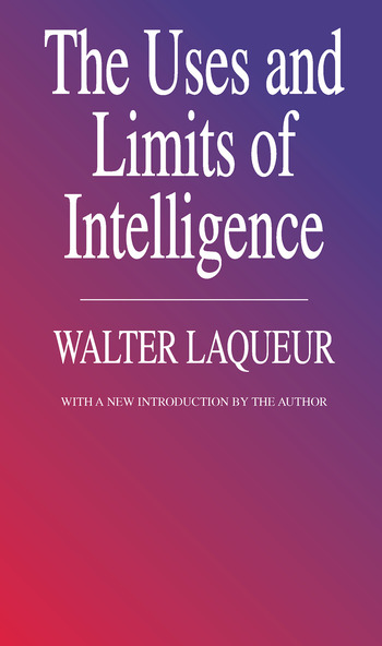 The Uses and Limits of Intelligence book cover