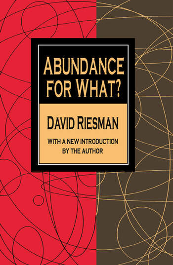 Abundance for What? book cover