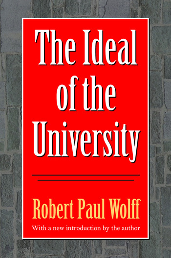 The Ideal of the University book cover