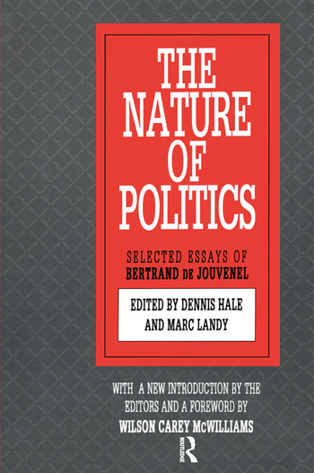 The Nature of Politics book cover