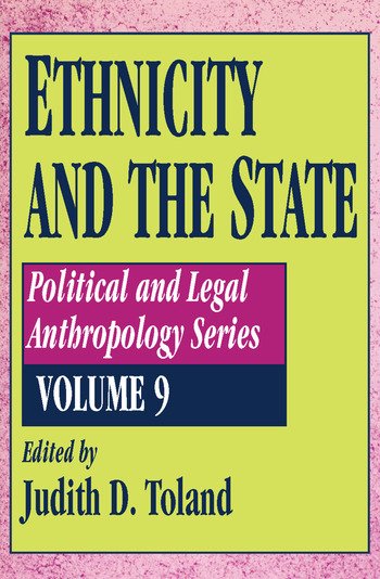 Ethnicity and the State book cover