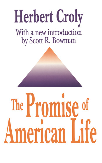 The Promise of American Life book cover