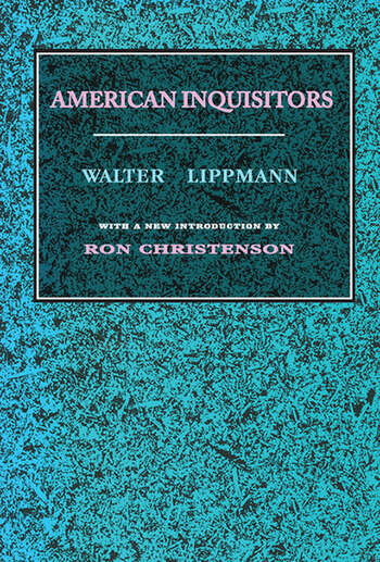 American Inquisitors book cover