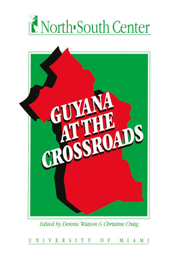 Guyana at the Crossroads book cover