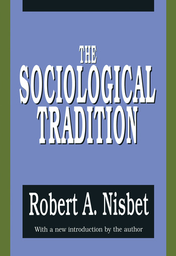 The Sociological Tradition book cover