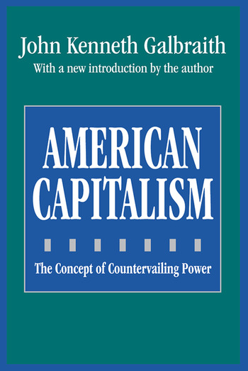 American Capitalism The Concept of Countervailing Power book cover