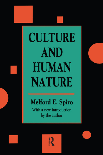 Culture and Human Nature book cover