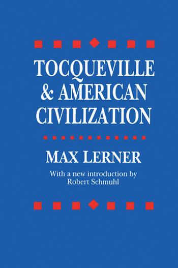 Tocqueville and American Civilization book cover