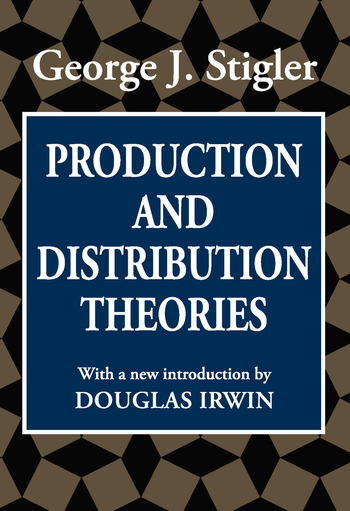 Production and Distribution Theories book cover