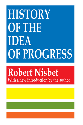 History of the Idea of Progress book cover
