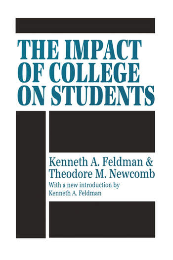 The Impact of College on Students book cover