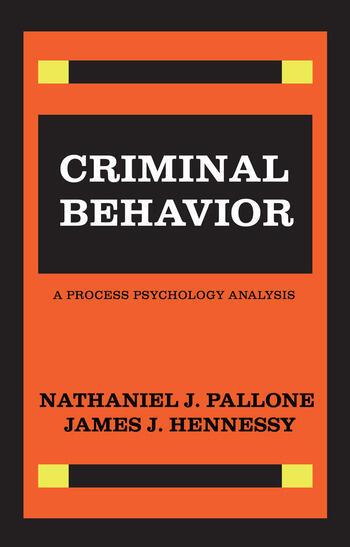 Criminal Behavior book cover
