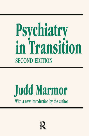 Psychiatry in Transition book cover