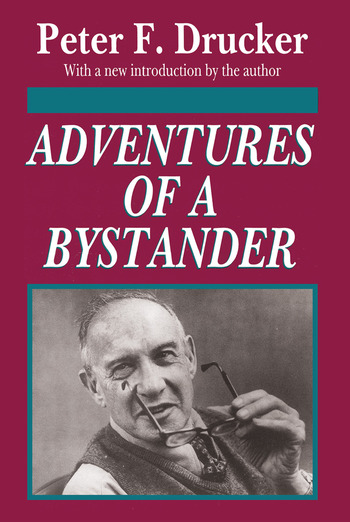 Adventures of a Bystander book cover