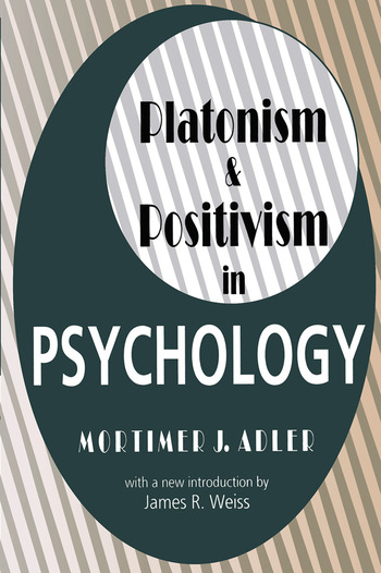 Platonism and Positivism in Psychology book cover