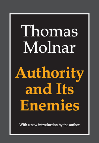 Authority and Its Enemies book cover